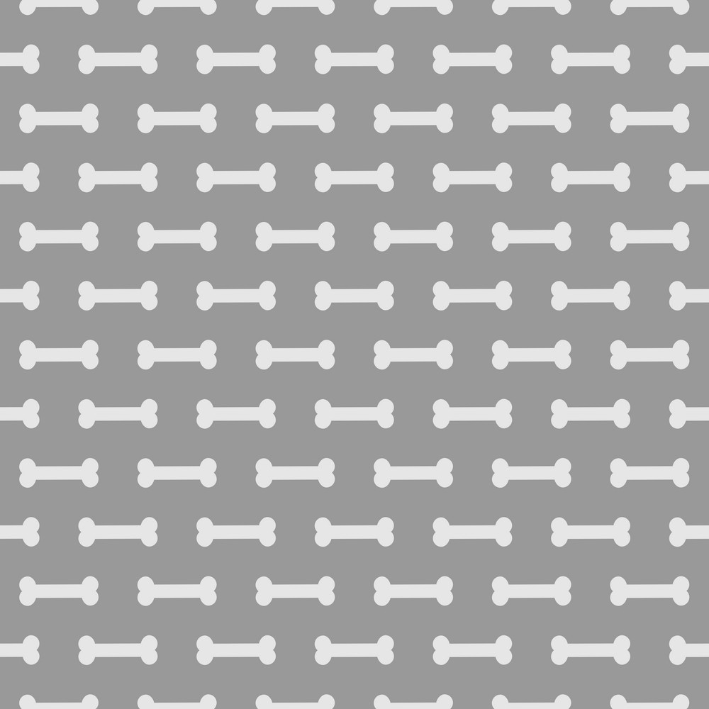 Purple Dog Bone Pattern