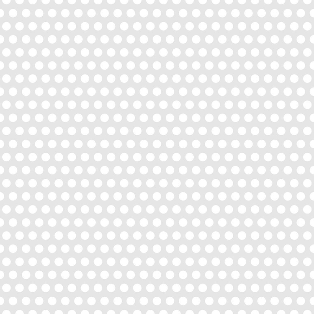 Pattern Of White Polka Dots On A Light Purple Background