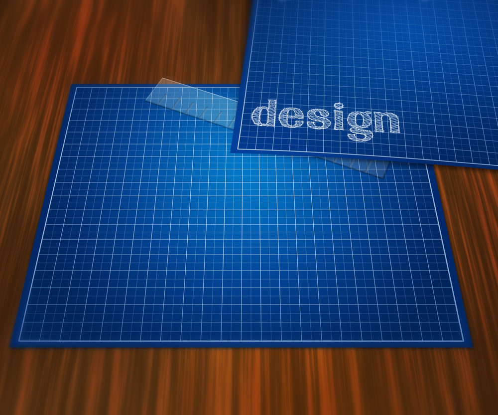 Blueprint design on table background royalty free stock image blueprint design on table background malvernweather Choice Image