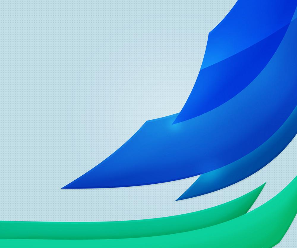 Bluetech  Shapes Background