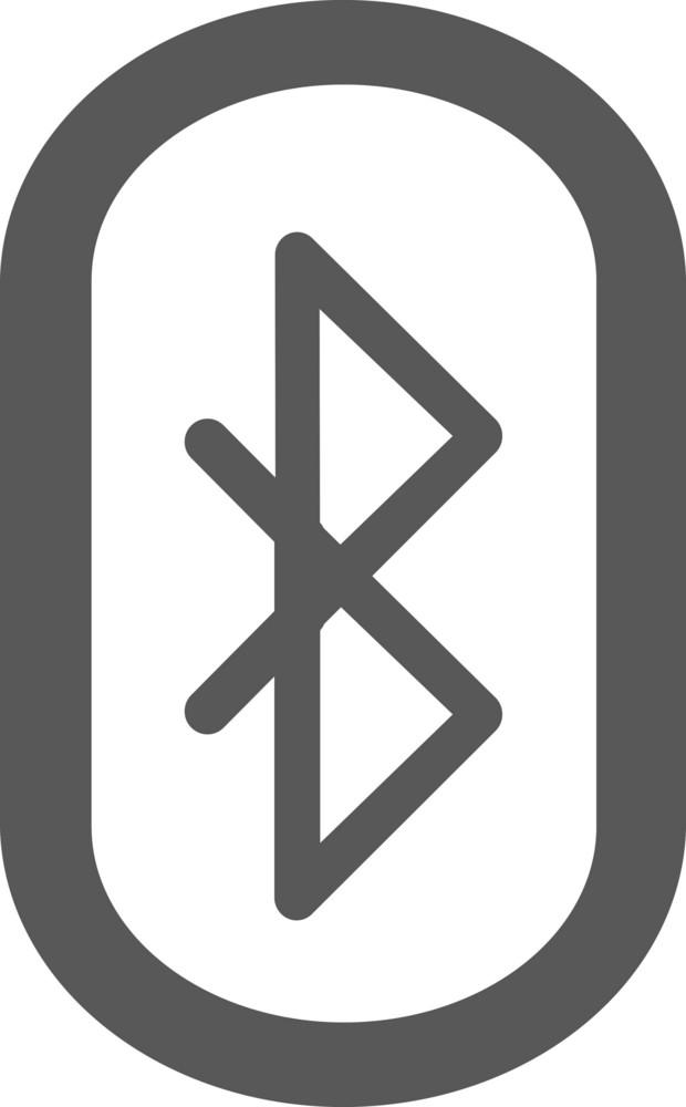 Bluetooth Stroke Icon