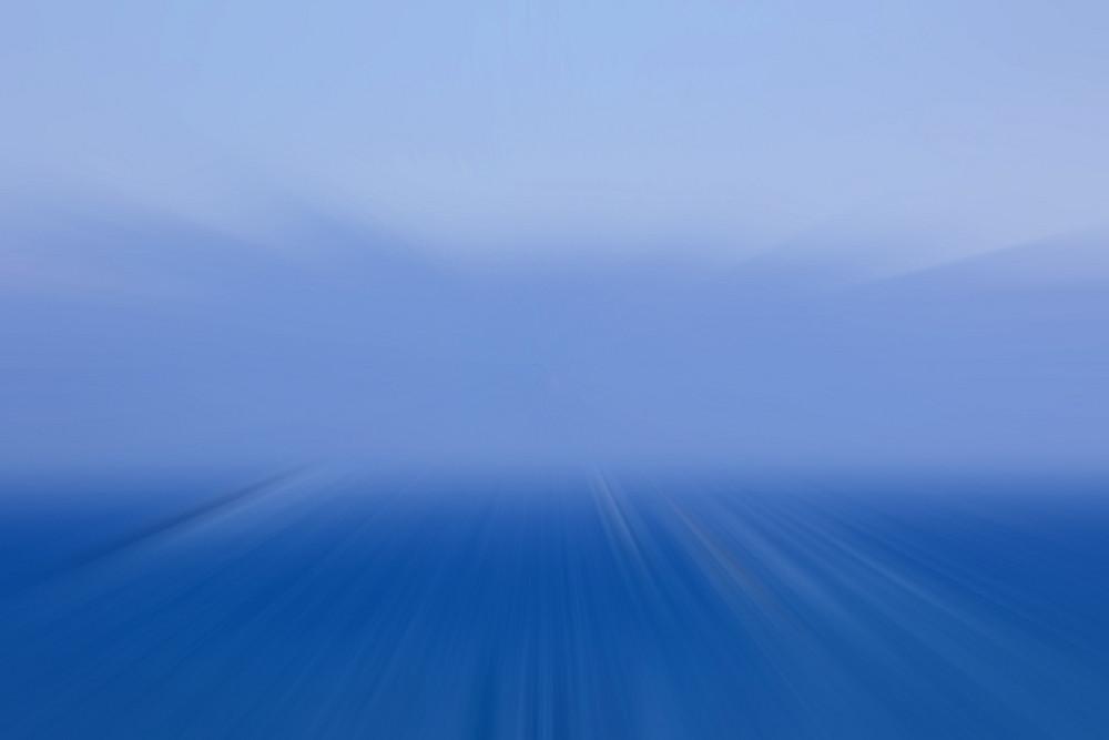 Blur Blue Effect Backdrop
