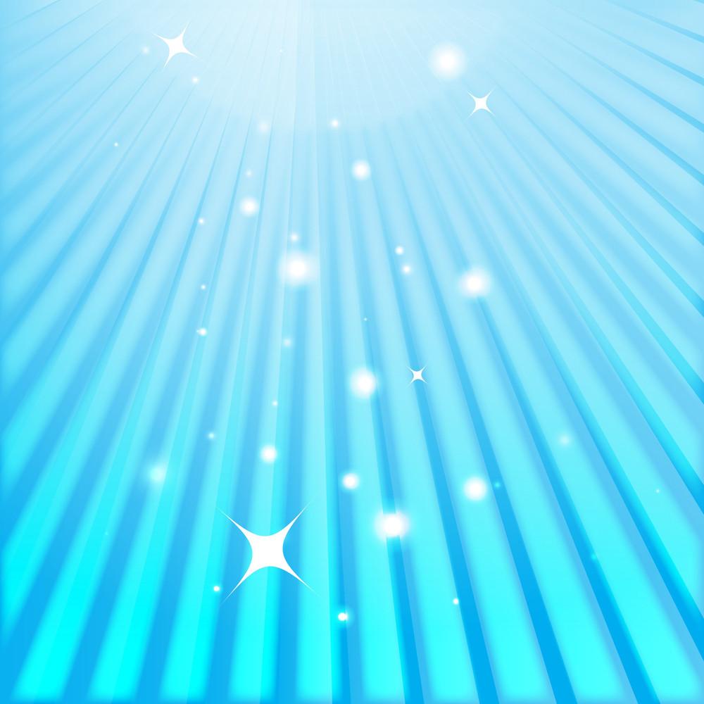 Blur Sunburst Stars Background