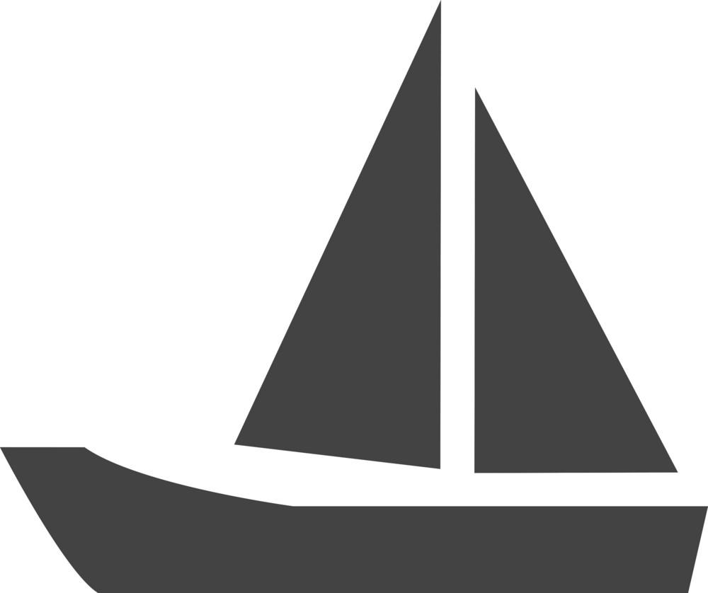 Boat Glyph Icon