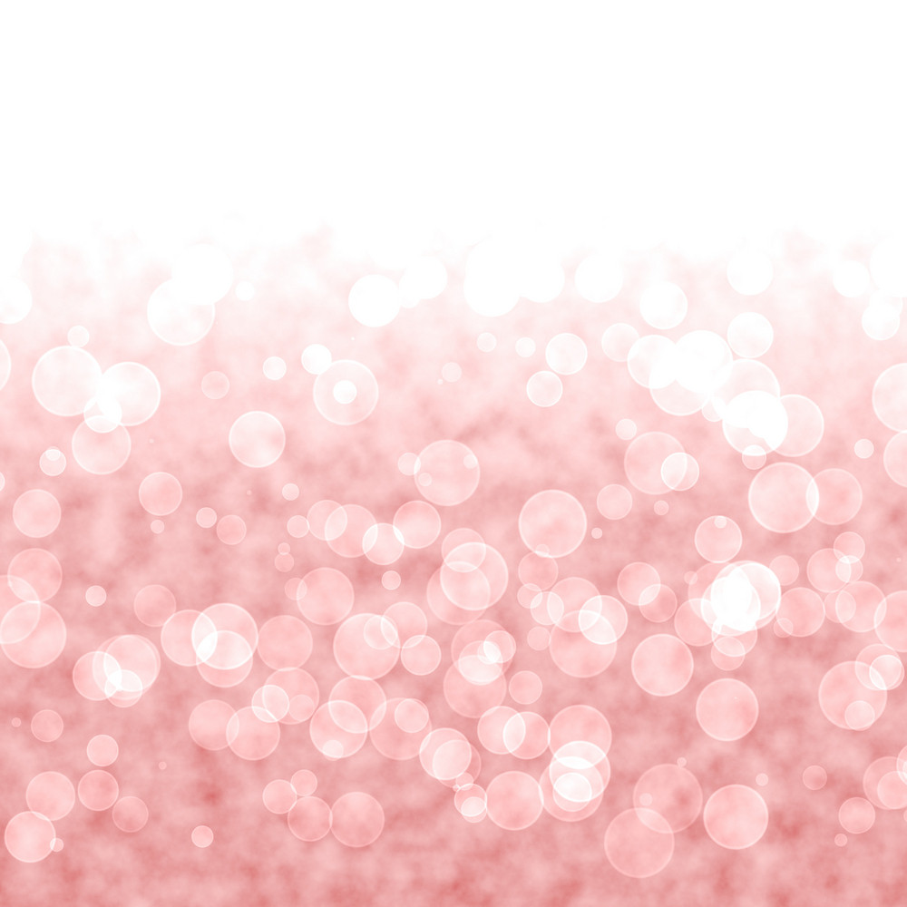 Bokeh Vibrant Red Or Pink Background With Blurry Lights