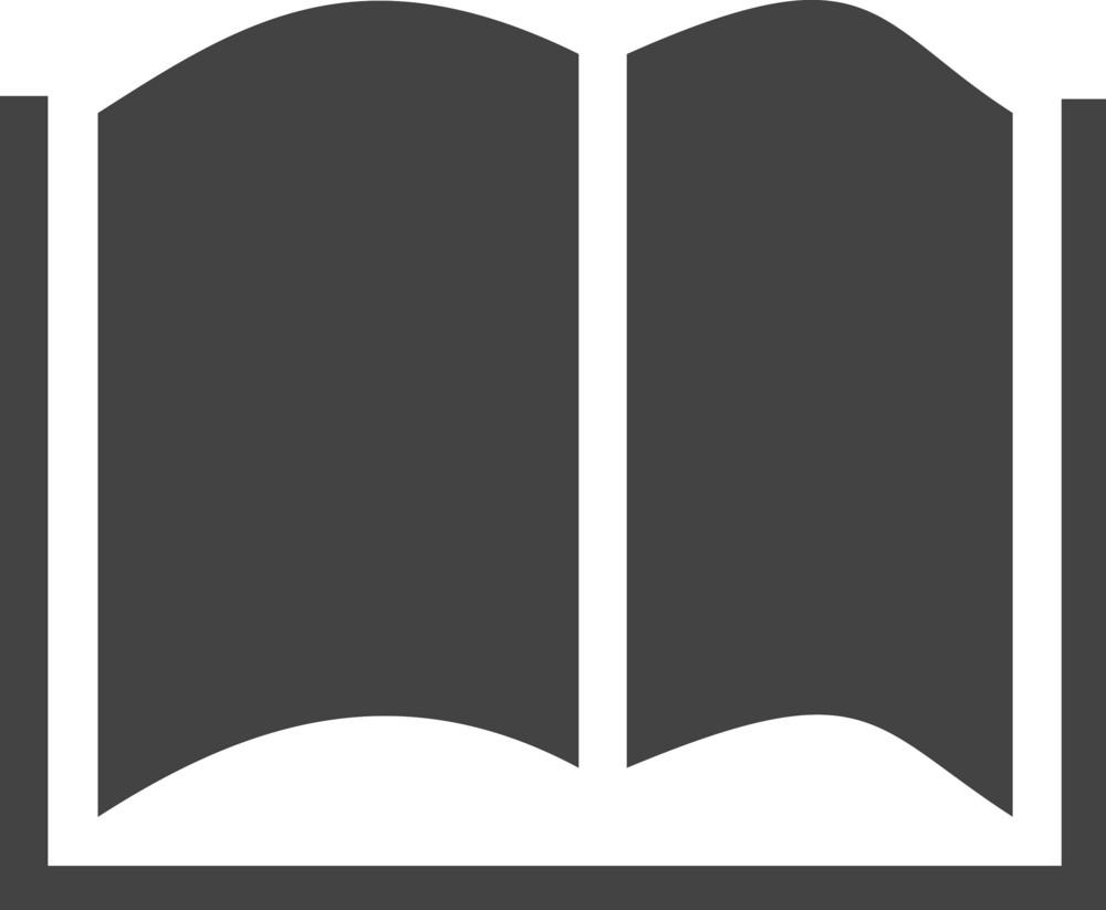 Book 1 Glyph Icon