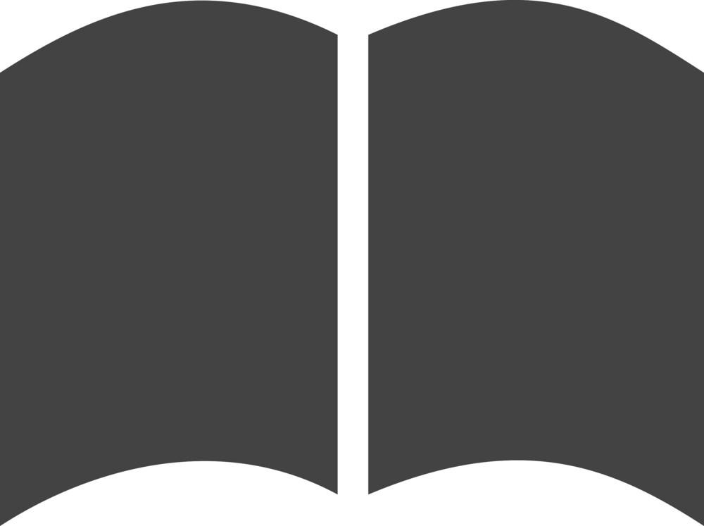 Book 2 Glyph Icon