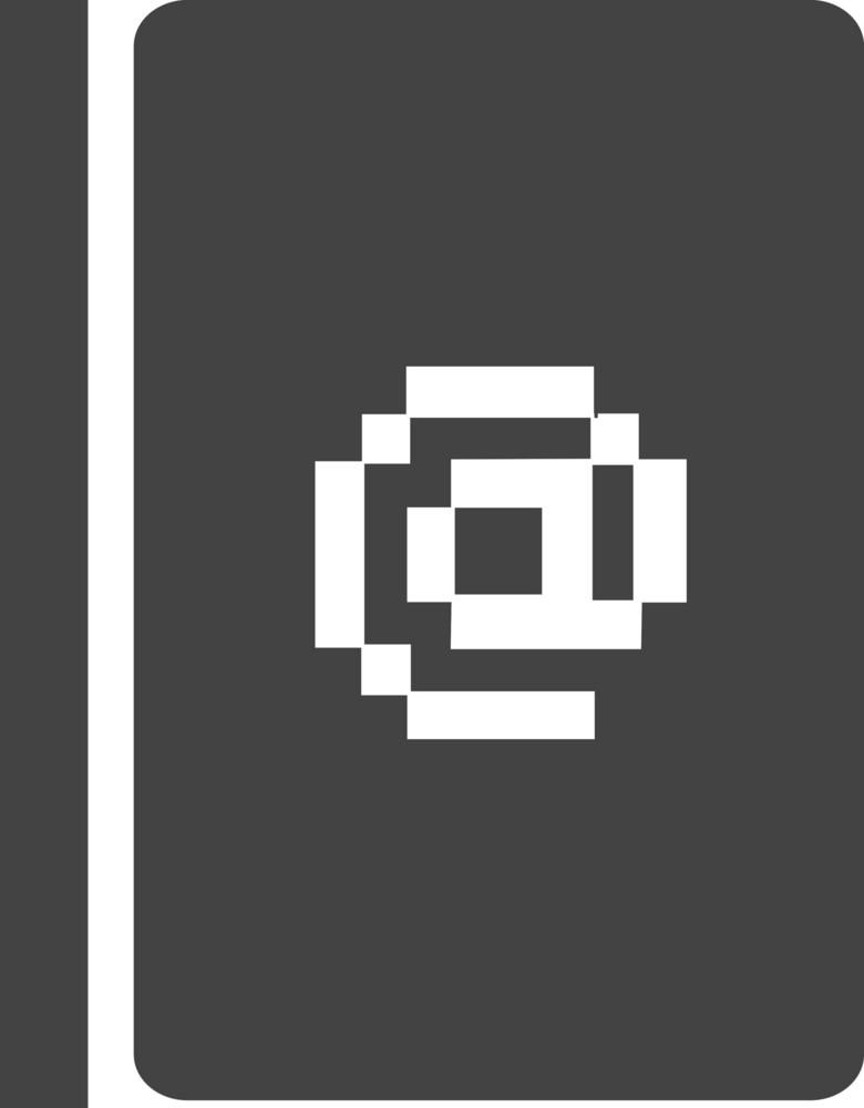 Book 3 Glyph Icon