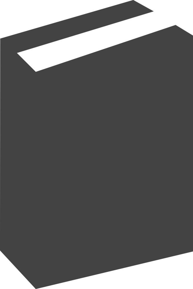 Book 6 Glyph Icon