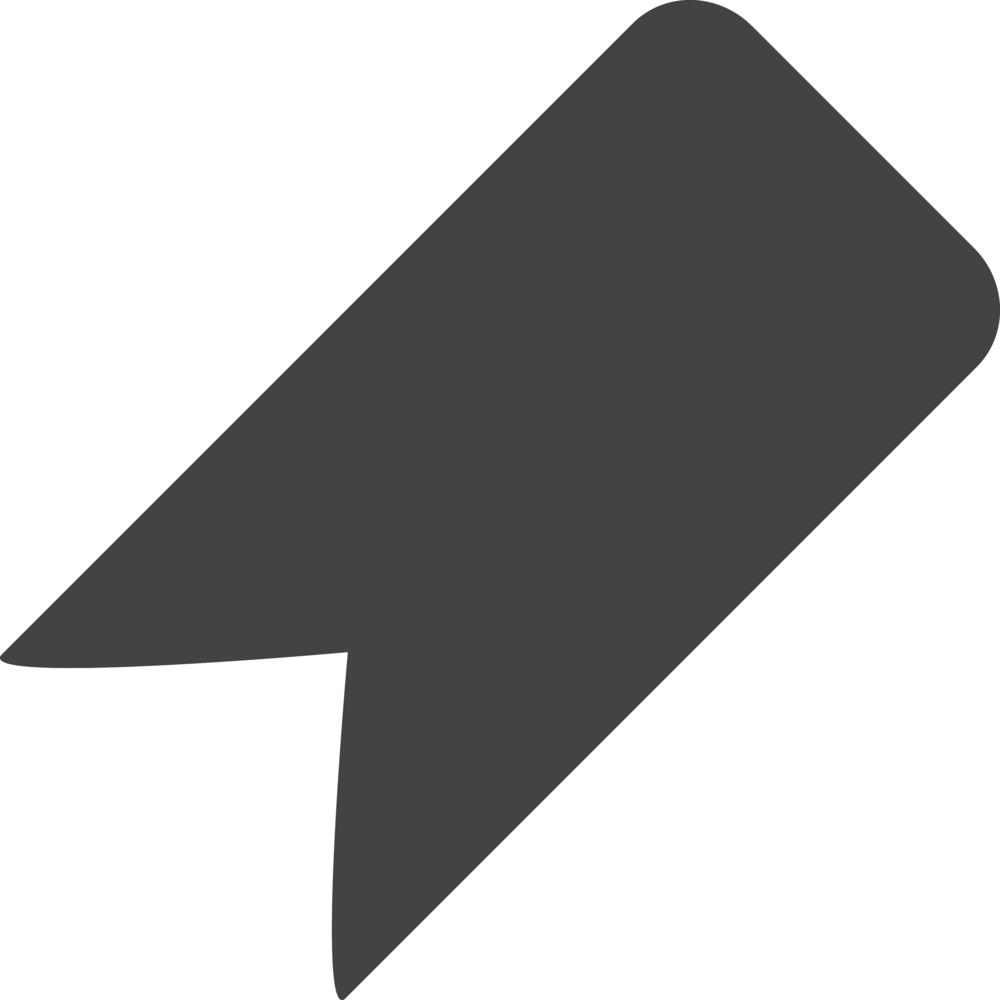 Bookmark Glyph Icon