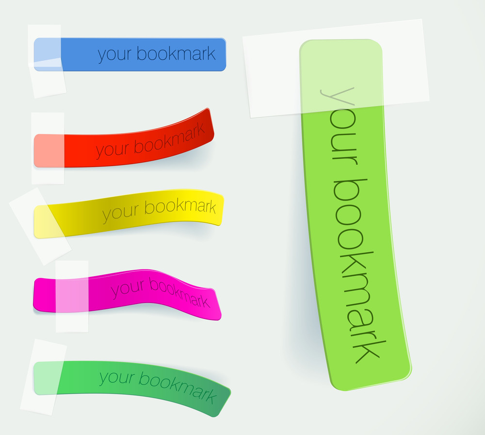 Bookmarks. Vector.
