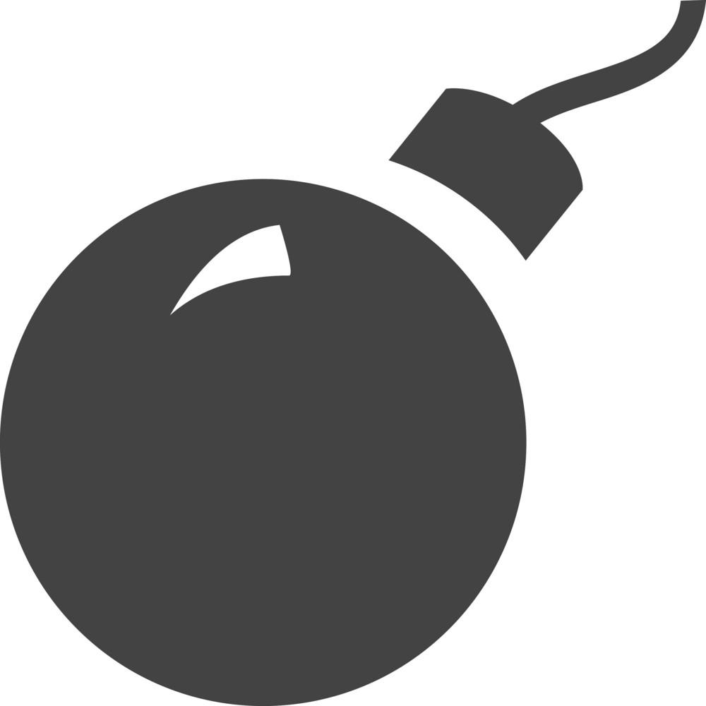 Boom Glyph Icon