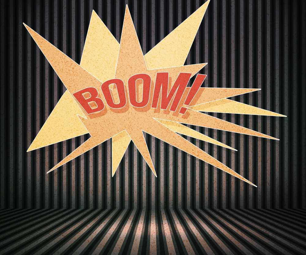 Boom Vintage Room Background