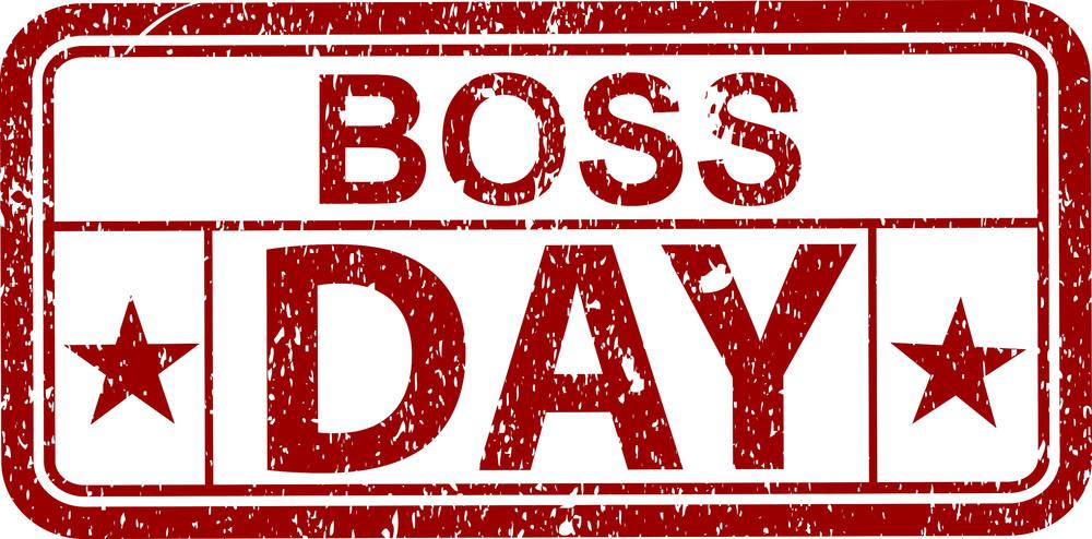 Boss Day Stamp
