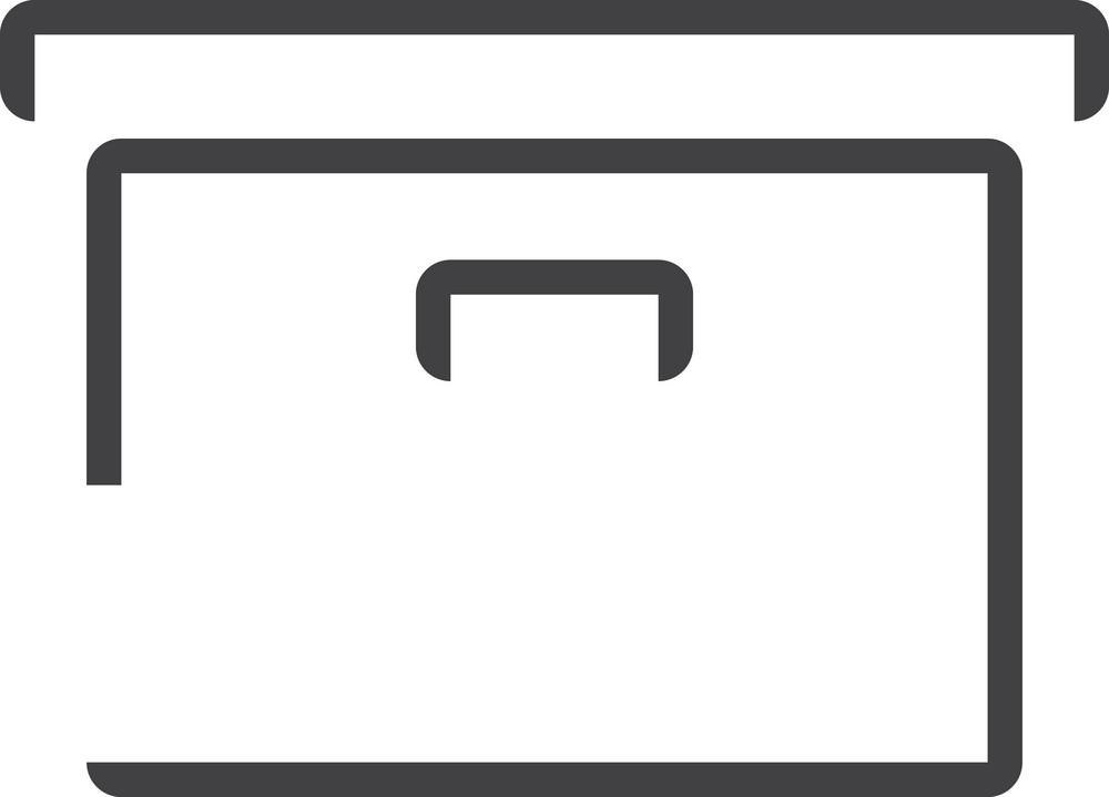 Box 1 Minimal Icon