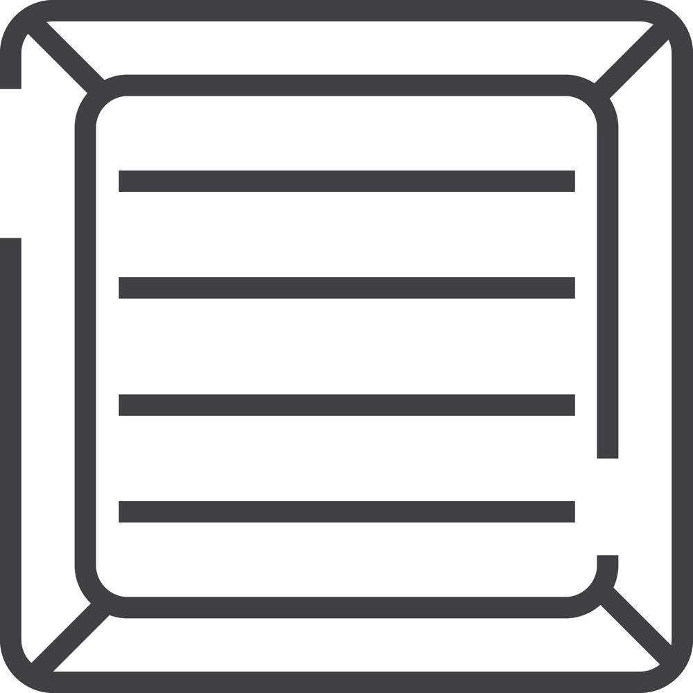 Box 2 Minimal Icon