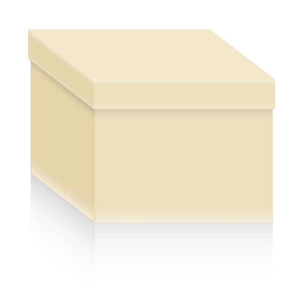 Box Shape Vector