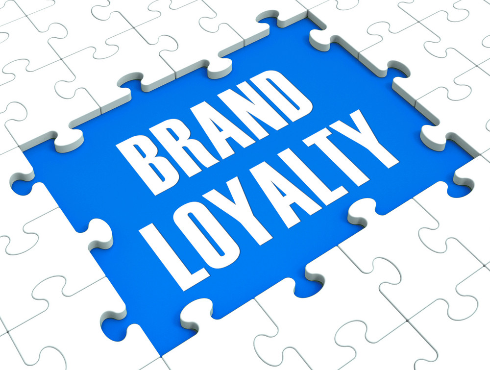 Brand Loyalty Puzzle Showing Trustworthy Products