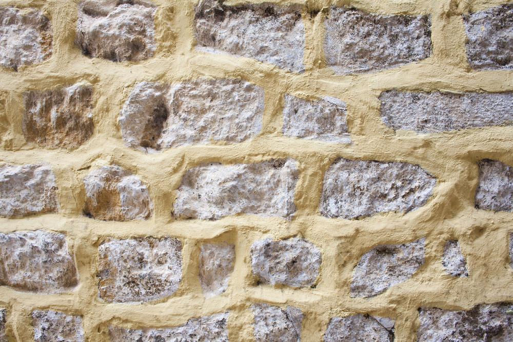 Brick texture with white average bricks