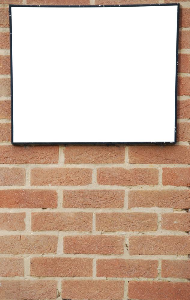 Brick Wall Billboard