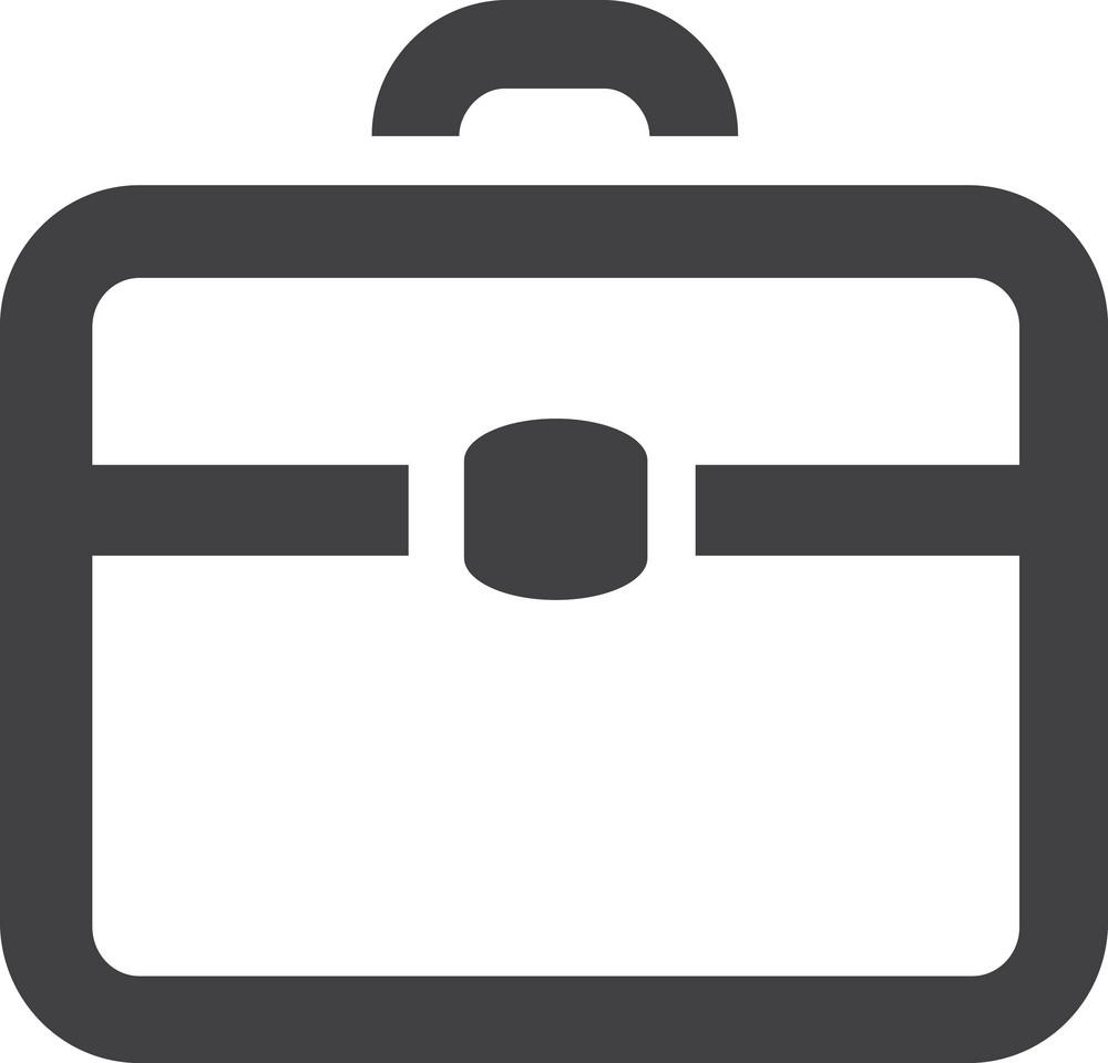 Briefcase 2 Stroke Icon