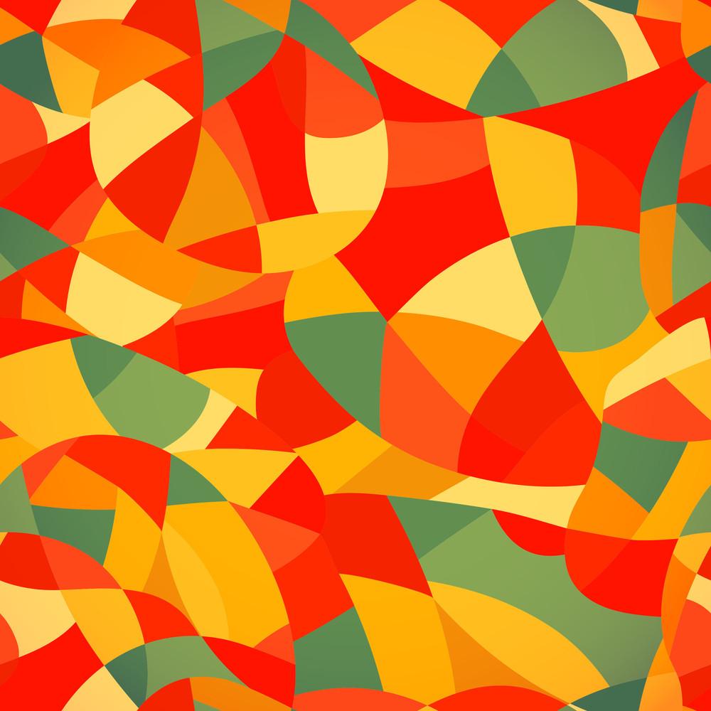 Bright Colors Mosaic Seamless Pattern