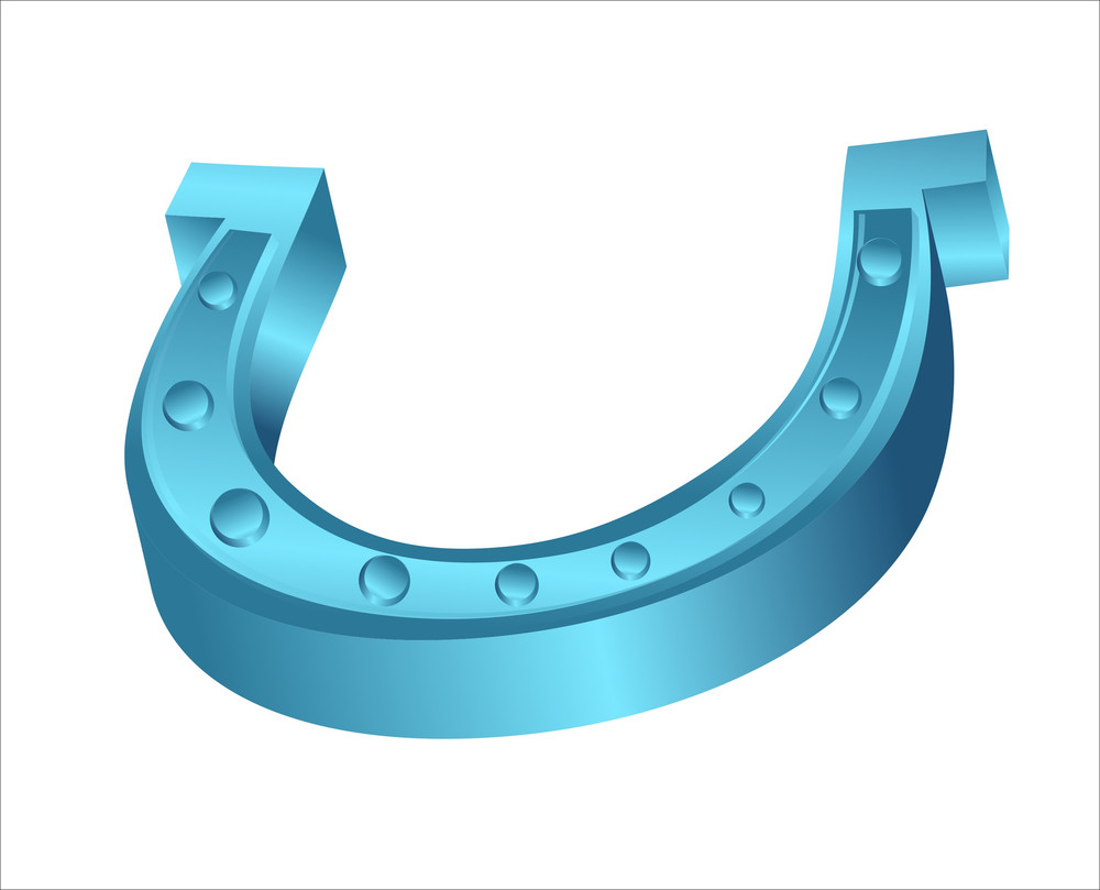 Bright Horseshoe 3d Vector