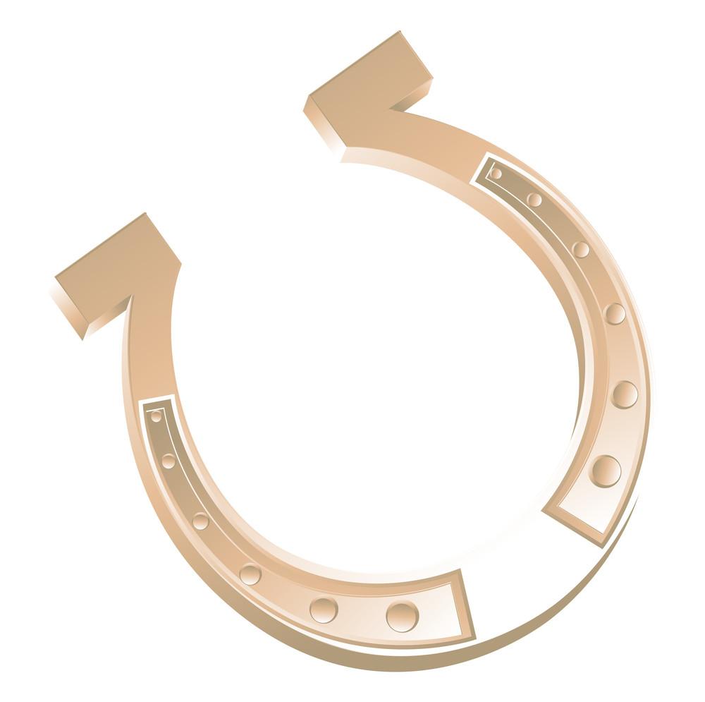 Bright Horseshoe Vector Design