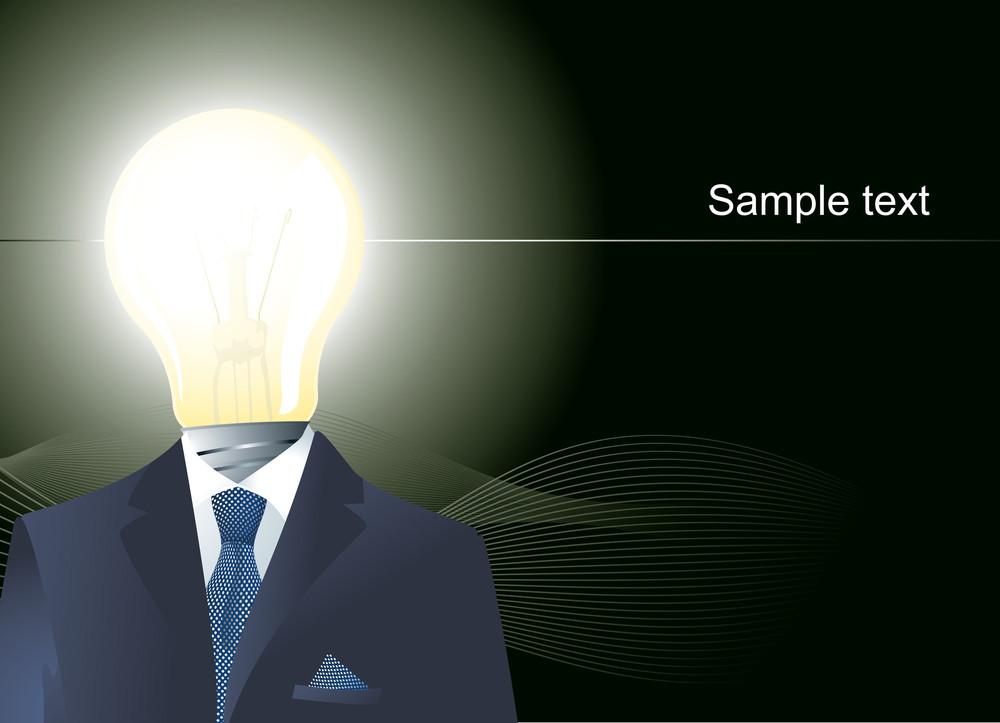 Bright Ideas. Vector.