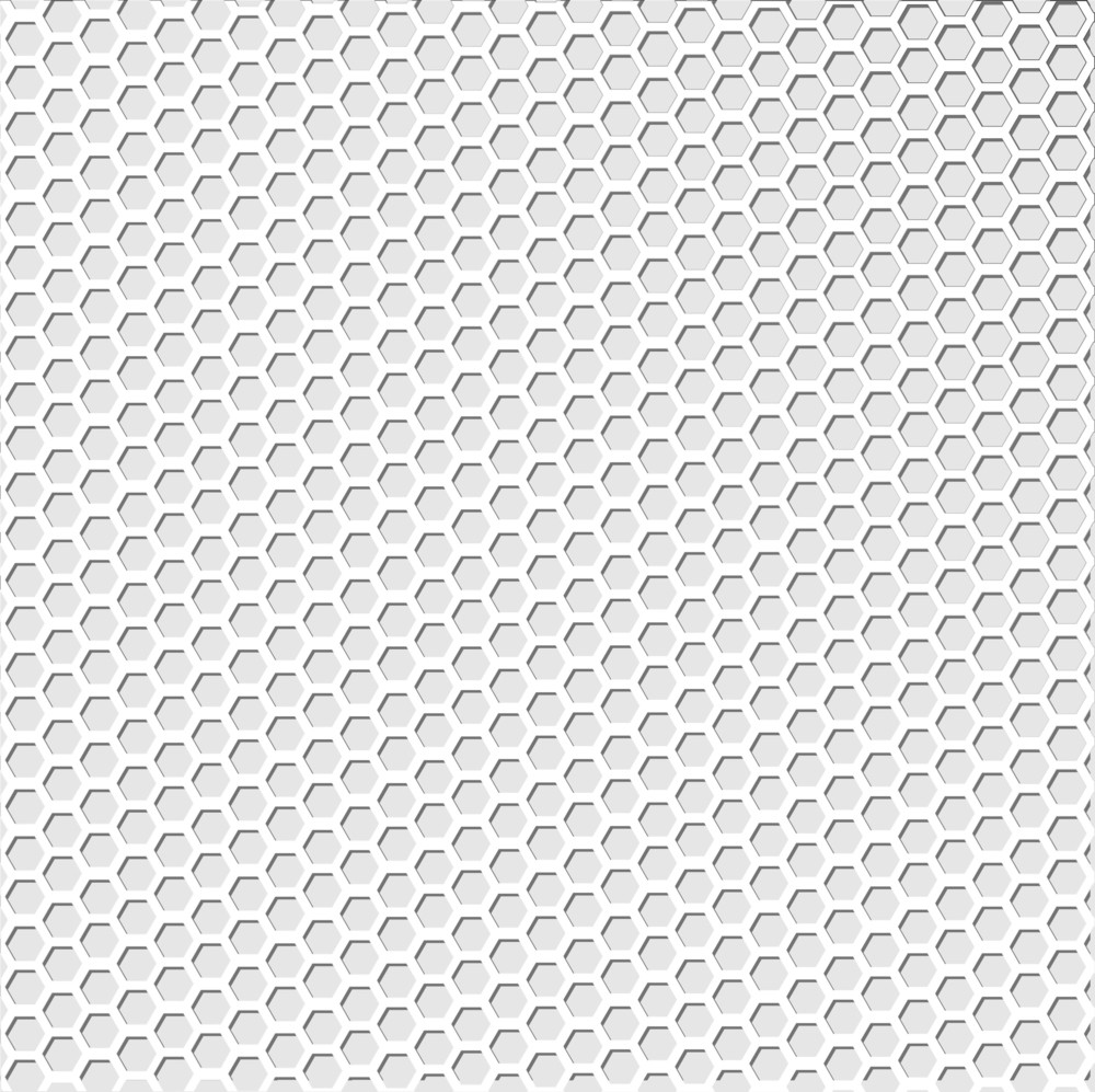 Bright Metal Circles Background