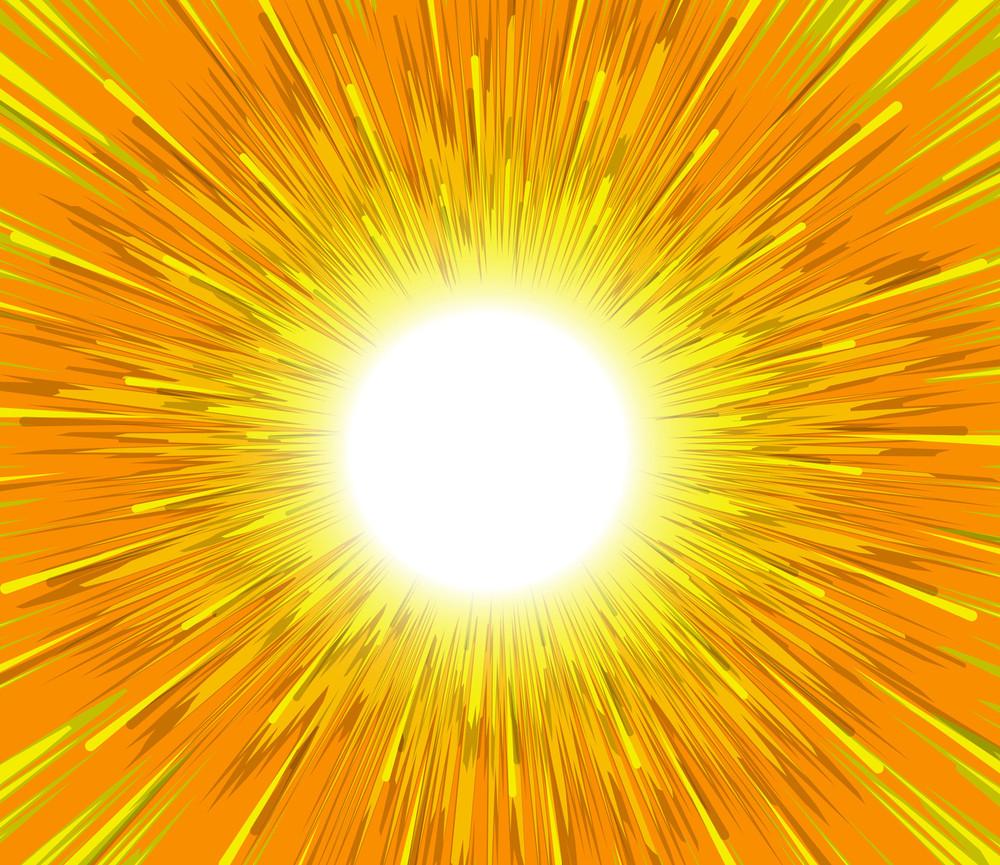 Bright Sunbeam Background