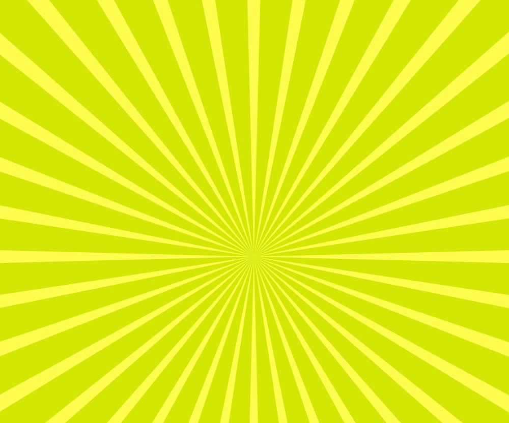 Bright Sunburst Background
