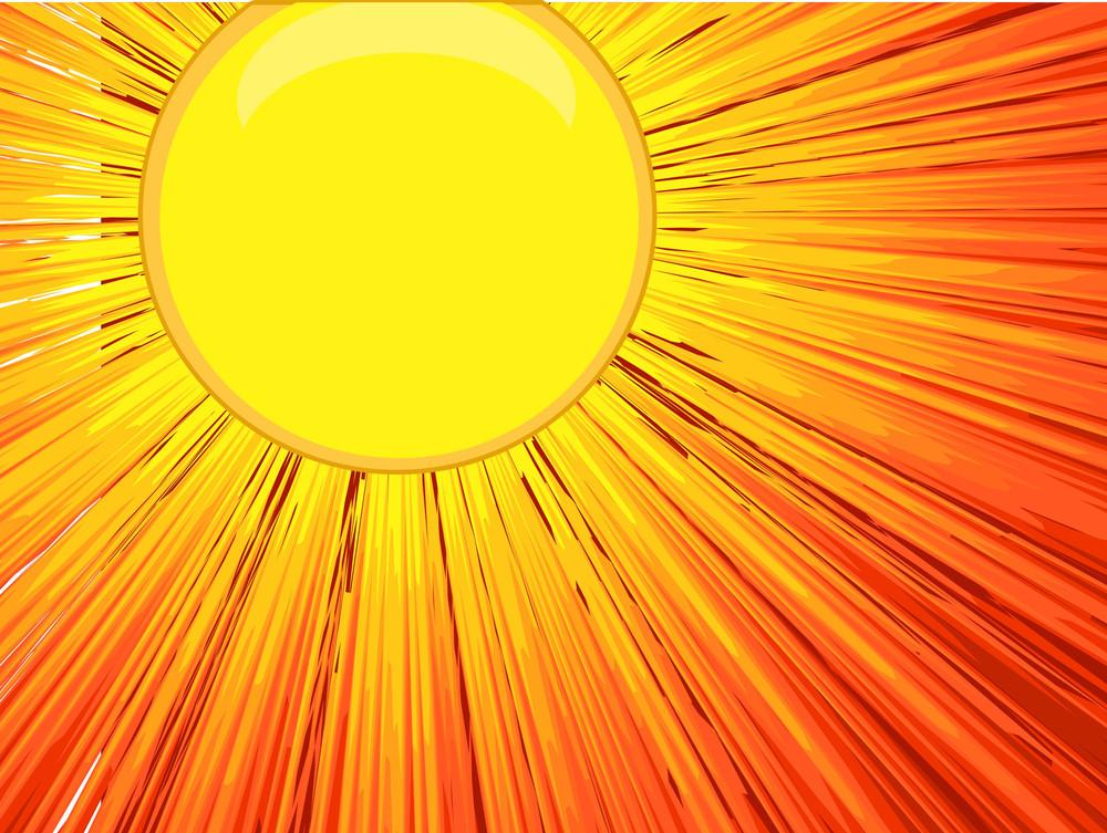 Bright Sunlight Background Vector