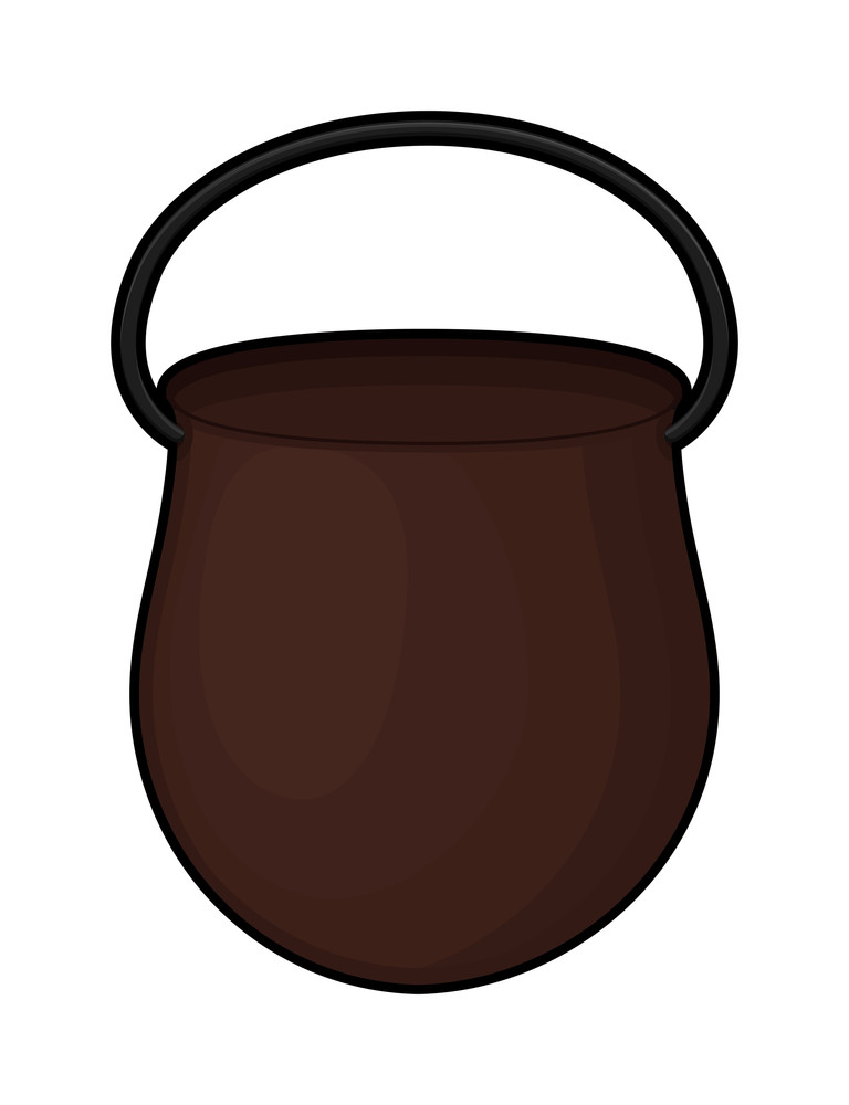 Brown Container Vector