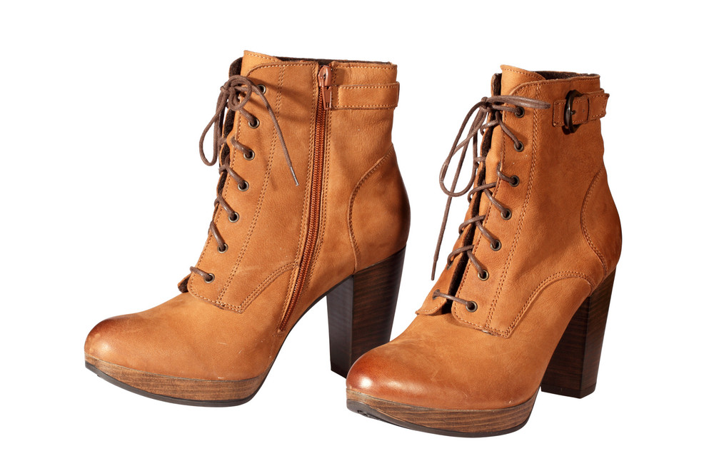 Brown Female Boots