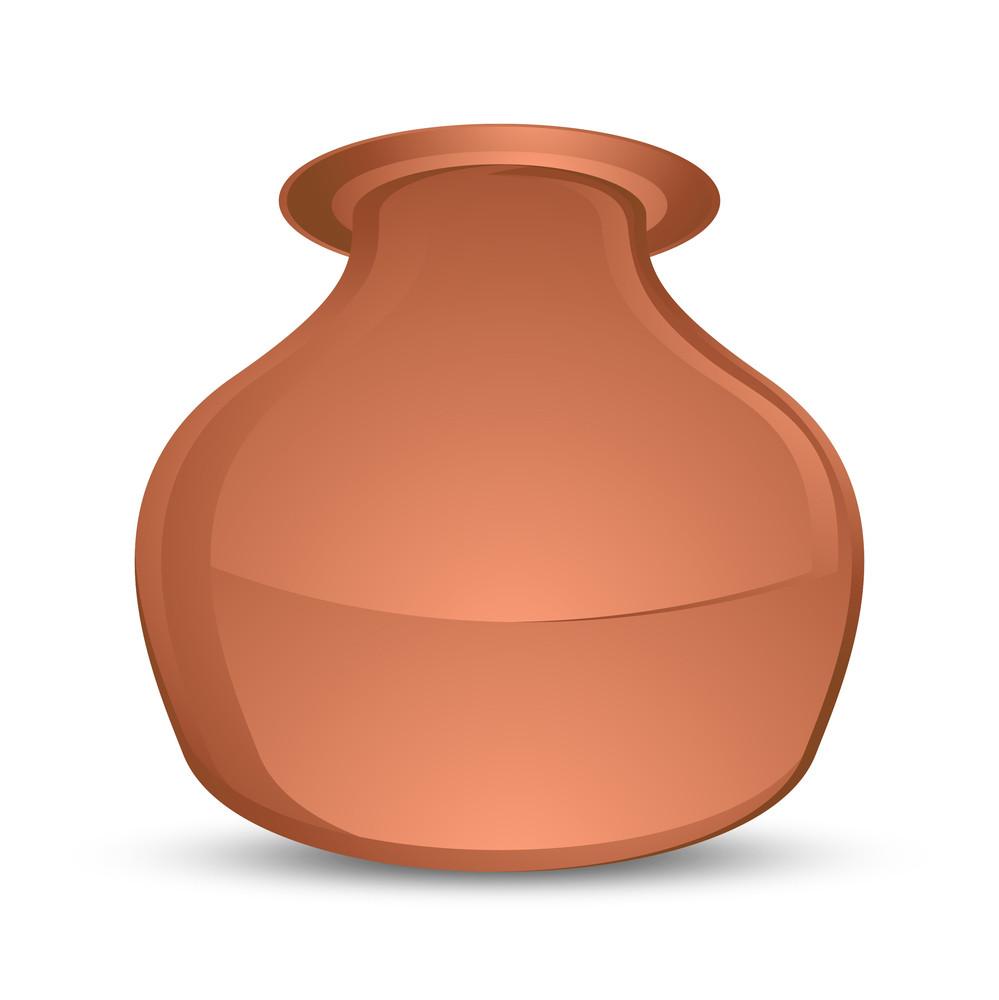 Brown Vector Cauldron
