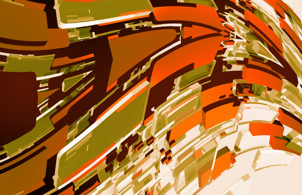Browny Abstract Design