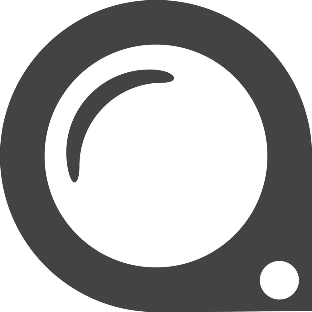 Brush Scale Glyph Icon