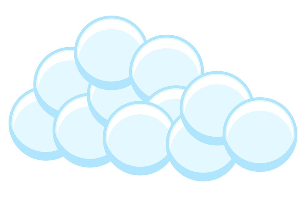 Bubbles Cloud Design