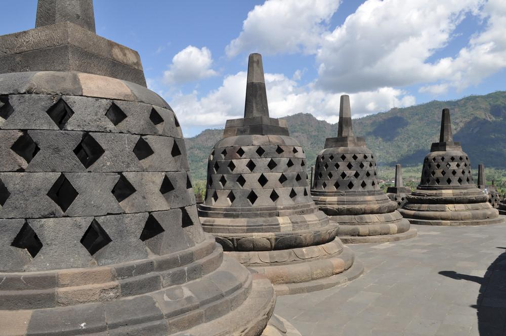 Buddhist Temple Borobudur