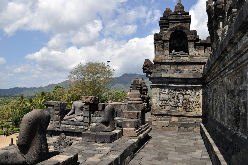 Buddhist Temple Borobudur