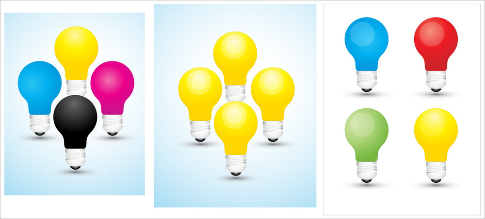 Bulbs Vector Designs