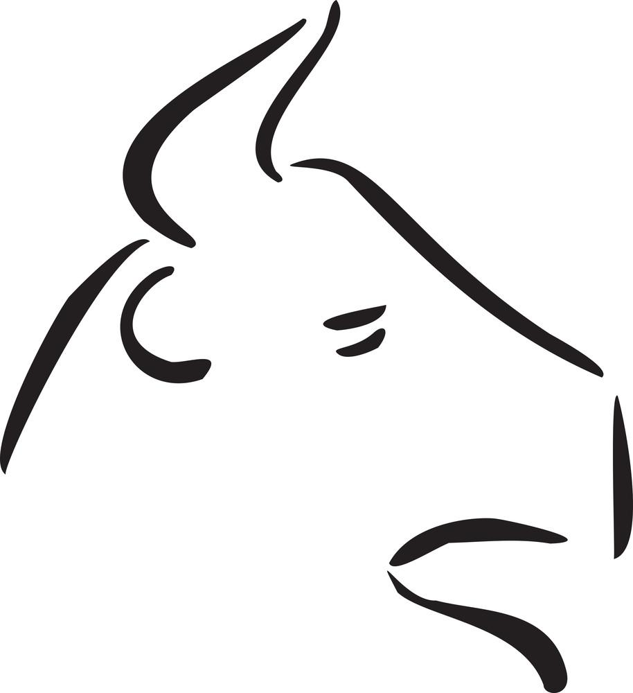 Bull For Taurus Astrology Sign Royalty Free Stock Image Storyblocks