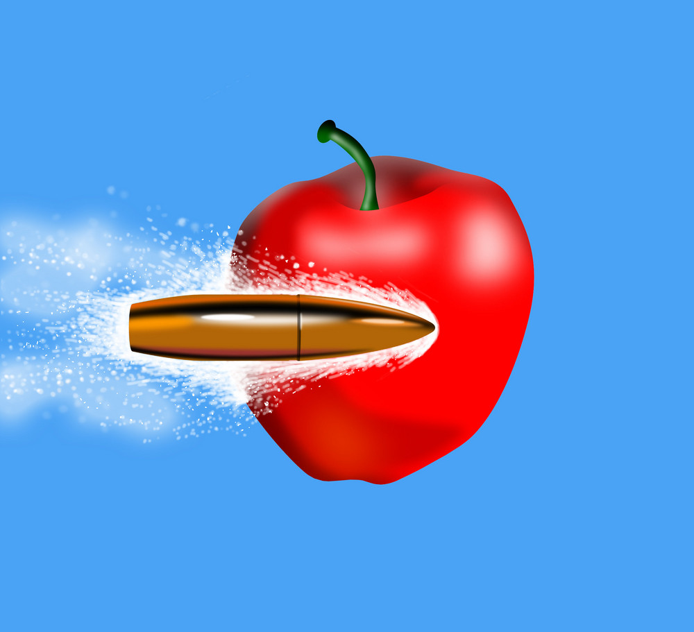 Bullet Side Apple