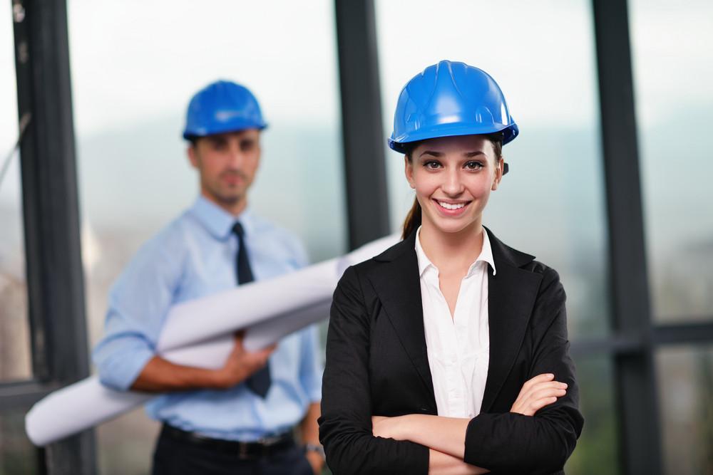 Construction architecture professionals