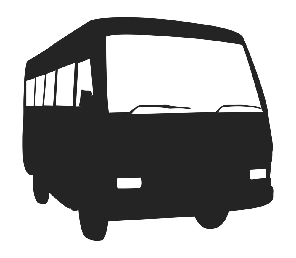 Bus Shape Vector