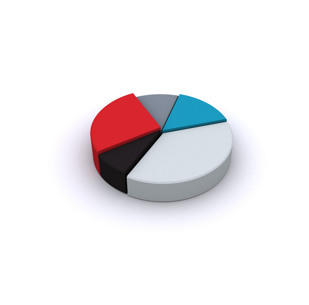Business 3d Pie Chart