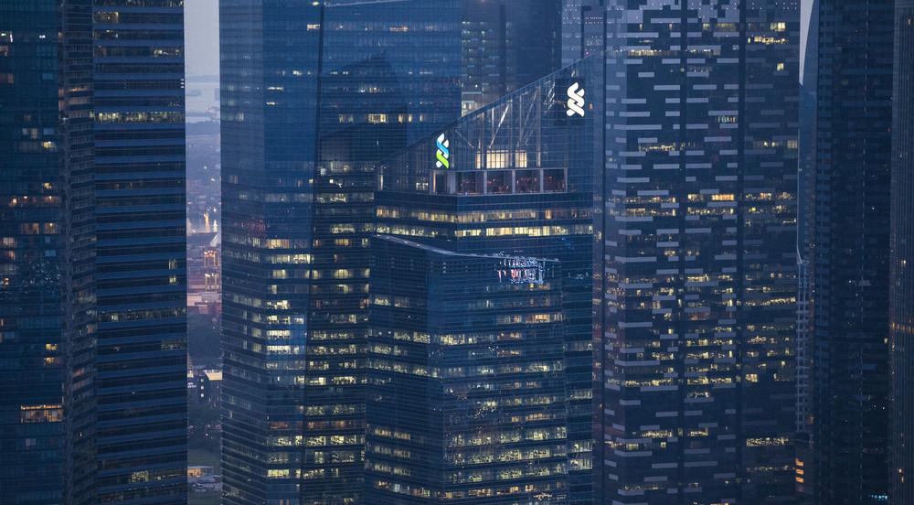 Business building cityspace