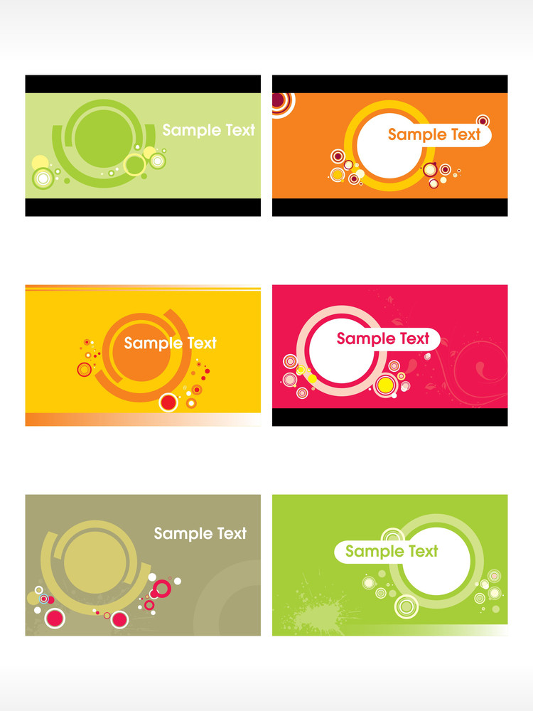 Business Card With Grunge Background5