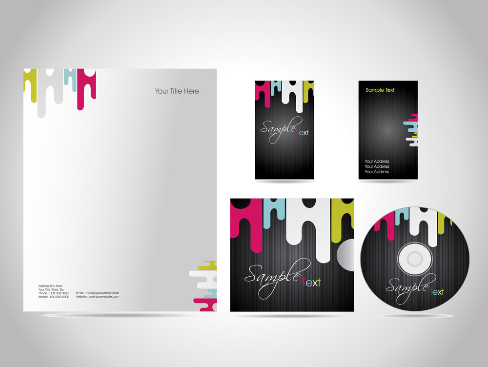 Business Kit Design For Your Project. [ Series - 4 ]
